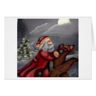 jultomtenjulkort hälsningskort
