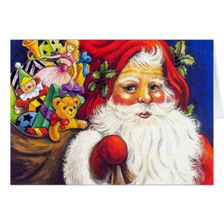 Jultomtenkort Hälsningskort