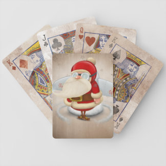 Jultomtenraket Spelkort