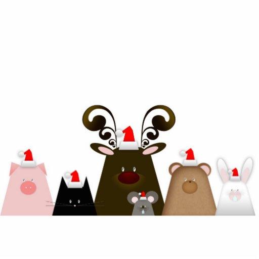 Julvänprydnad