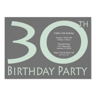 Jumbon numrerar födelsedagsfesten (vis 12,7 x 17,8 cm inbjudningskort