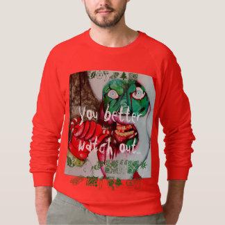 Jumper för jul för ZombieSanta fasa T Shirts