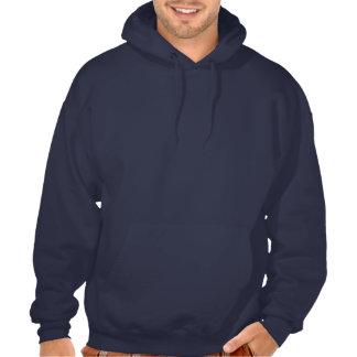 Jumpstyle mörk (marinblå) Hoodie (med text, baksid