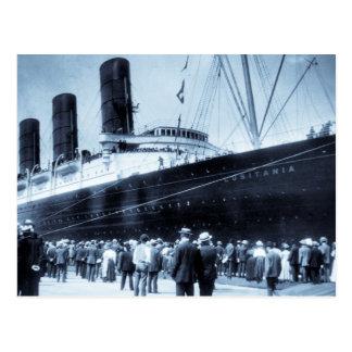 Jungfru- resa av RMS-Lusitania, 13 Septemeber 1907 Vykort