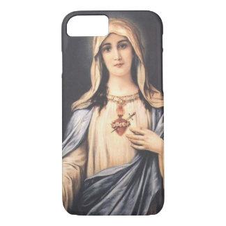 Jungfrulig Mary för obefläckad hjärta iPhone 7