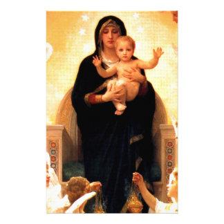 Jungfruliga Mary Brevpapper