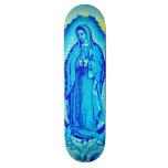 Jungfruligt däck för Mary blåttskridsko
