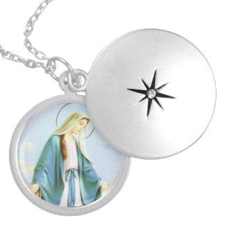 Jungfruligt halsband för Locket för Mary växande m