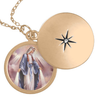 Jungfruligt Mary halsband