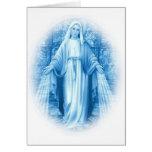 Jungfruligt Mary kort