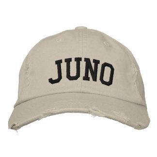 Juno broderade hatten broderade baseball kepsar