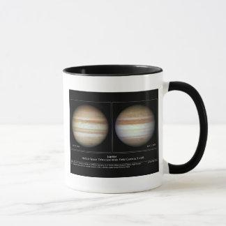 Jupiter atmosfäriska ändringar mugg
