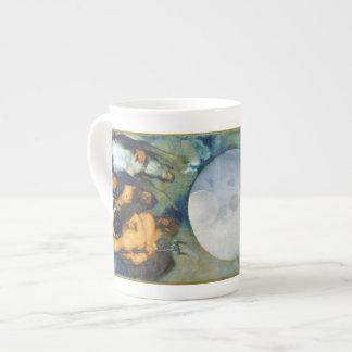 Jupiter Neptune och Pluto vid Caravaggio i 1597 Tekopp