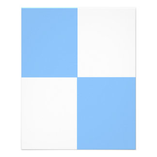 JUSTERBAR baby blue & vitreklamblad Full Färg Flygblad