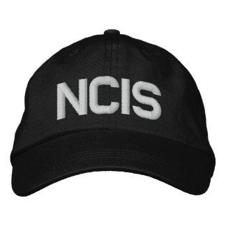 Justerbar hatt för NCIS Broderad Keps