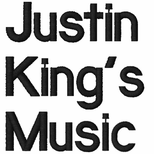 Justin kung musik broderade munkjackor