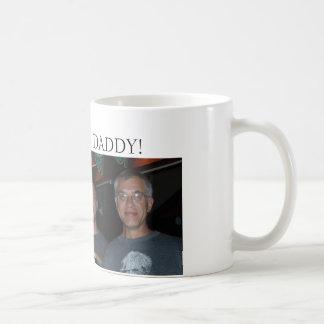 Justin, mig & pappa (redigera), precis appell mig kaffemugg