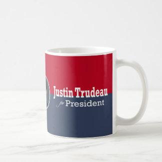 Justin Trudeau för presidentkaffemugg Kaffemugg