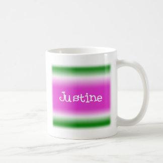 Justine Kaffemugg