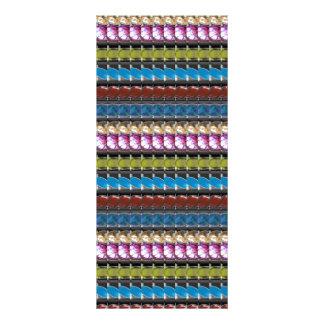 Juveln pryder med pärlor Crystal stenar som GIFTA Reklamkort