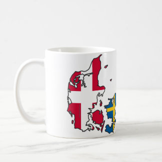 Jylland & Fyn - Det rigtige Danmark Krus Vit Mugg