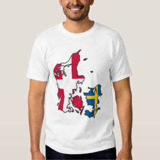 Jylland & Fyn - Det rigtige Danmark Tee Shirt