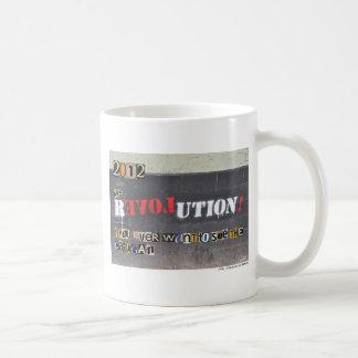 K-9 revolution - Ron Paul 2012! Kaffemugg