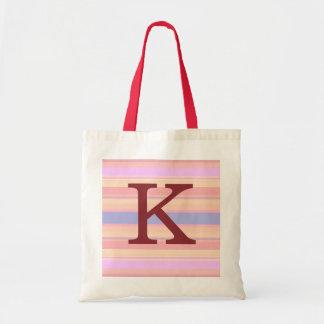 K:: För sommarrandar för Monogram K hänger lös den Tygkasse