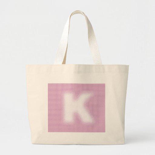 K-Monogram Tygkassar