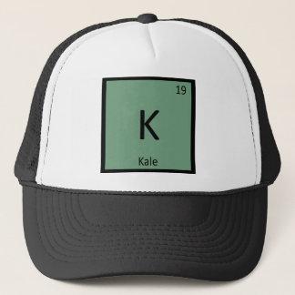 K - Symbol för bord för Kalegrönsakkemi periodiskt Keps