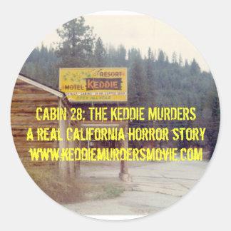 Kabin 28: Den gula klistermärken för Keddie mord