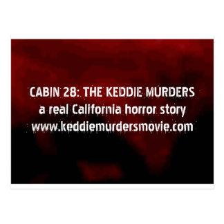 Kabin 28: Keddien mördar fasavykortet Vykort