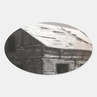 Kabindröm Ovalt Klistermärke