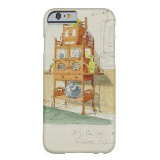Kabinett utställning, c.1860s-70s (w/c & rita på p barely there iPhone 6 skal
