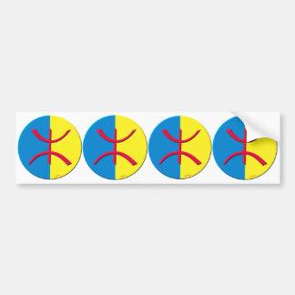 kabylen för 4 klistermärkear häller carosseriebile bildekal