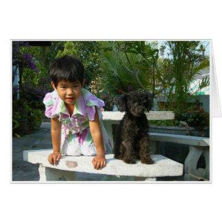 Kaem & Lucy Hälsningskort