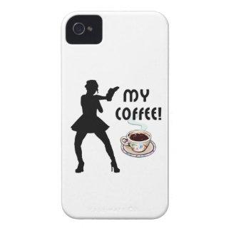 Kaffe Case-Mate iPhone 4 Skydd
