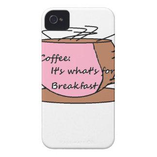 Kaffe: Det är vad är för frukost Case-Mate iPhone 4 Skydd