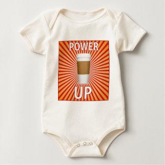 Kaffe - din toppen driver! body för baby