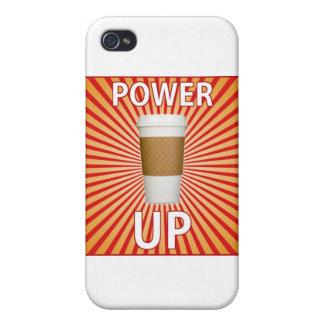 Kaffe - din toppen driver! iPhone 4 fodraler