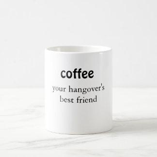 Kaffe ditt bakrus mugg för bästa vängåva