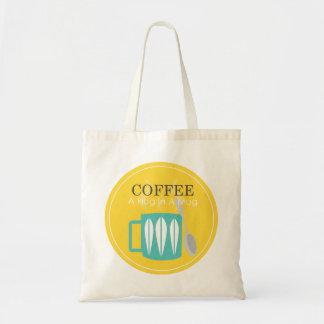 Kaffe - en kram i en mugg tygkasse