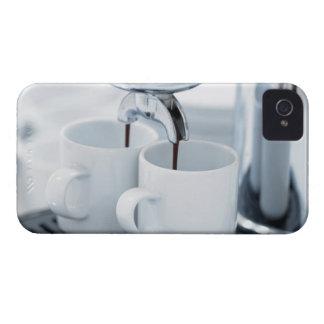 Kaffe för espressomaskindanande iPhone 4 skydd