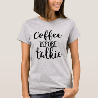 Kaffe för Talkie Tee Shirt