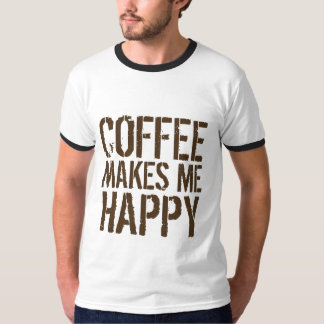 Kaffe gör mig lycklig tee
