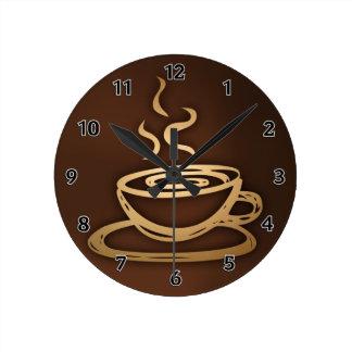 Kaffe i min kopp rund klocka