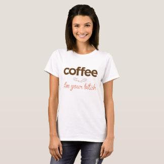 """""""Kaffe mig förmiddag ditt för jäkligt """", Tee Shirt"""