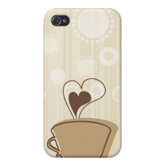 Kaffe mig iPhone 4 cover
