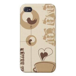 Kaffe mig iPhone 4 skal