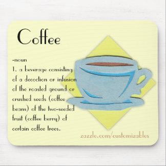 Kaffe Mousepad Mus Mattor